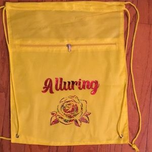 Yellow Alluring Cinch Bag